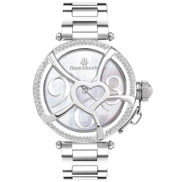 ساعت مچی عقربه ای زنانه رنه موریس مدل  Coeur d Amour 50103 rm1