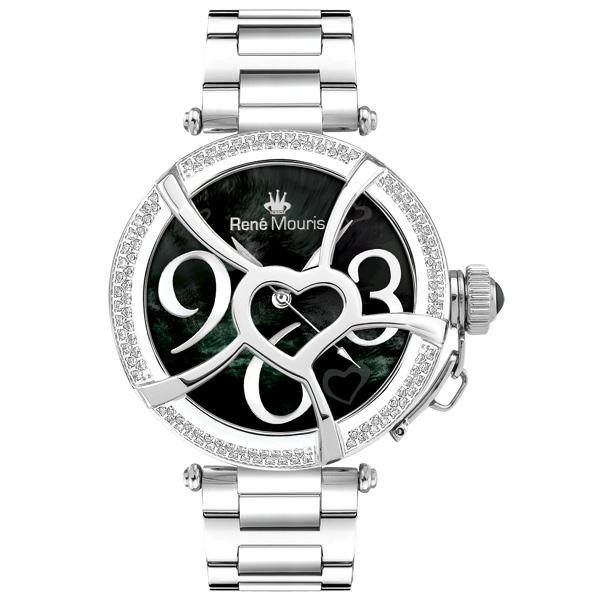 ساعت مچی عقربه ای زنانه رنه موریس مدل Coeur d Amour 50103rm3