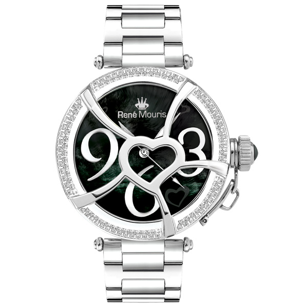 ساعت زنانه برند رنه موریس مدل Coeur d Amour 50103rm3