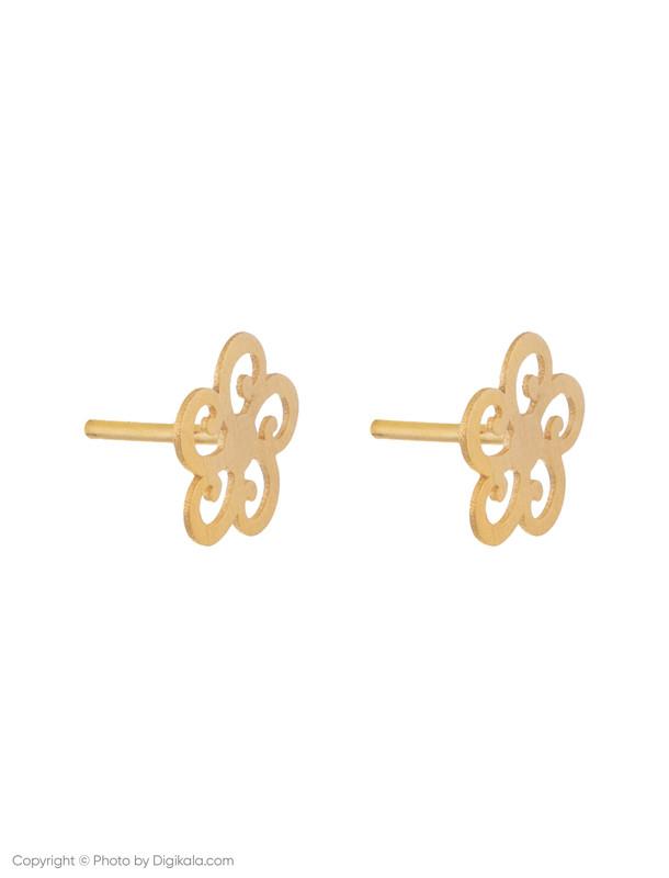 گوشواره طلا 18 عیار زنانه میو استار مدل EG144