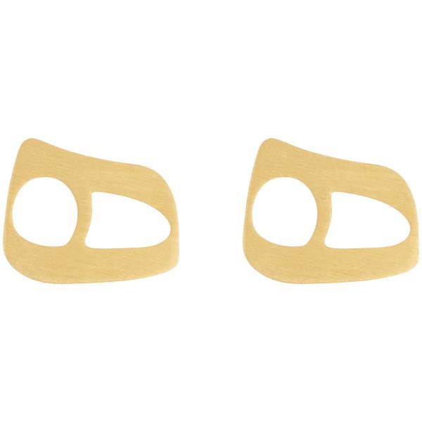 گوشواره طلا 18 عیار زنانه میو گلد مدل EG109