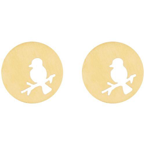 گوشواره طلا 18 عیار زنانه میو استار مدل EG130
