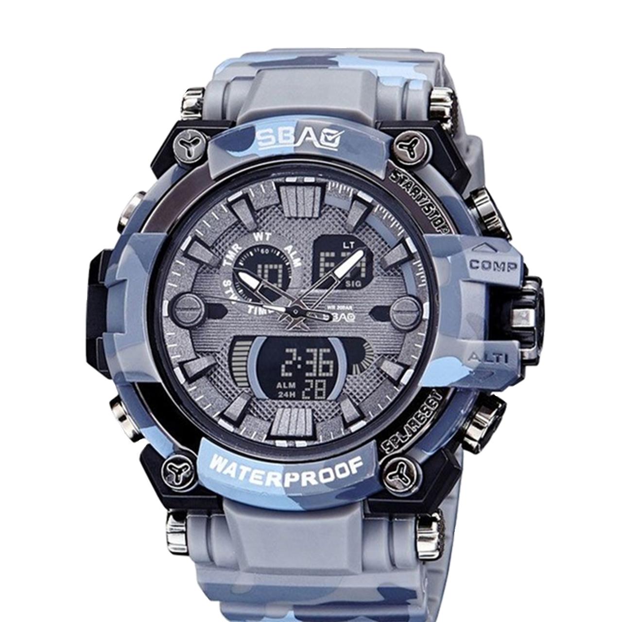 ساعت مچی عقربه ای مردانه اِسباُ مدل 8013GR