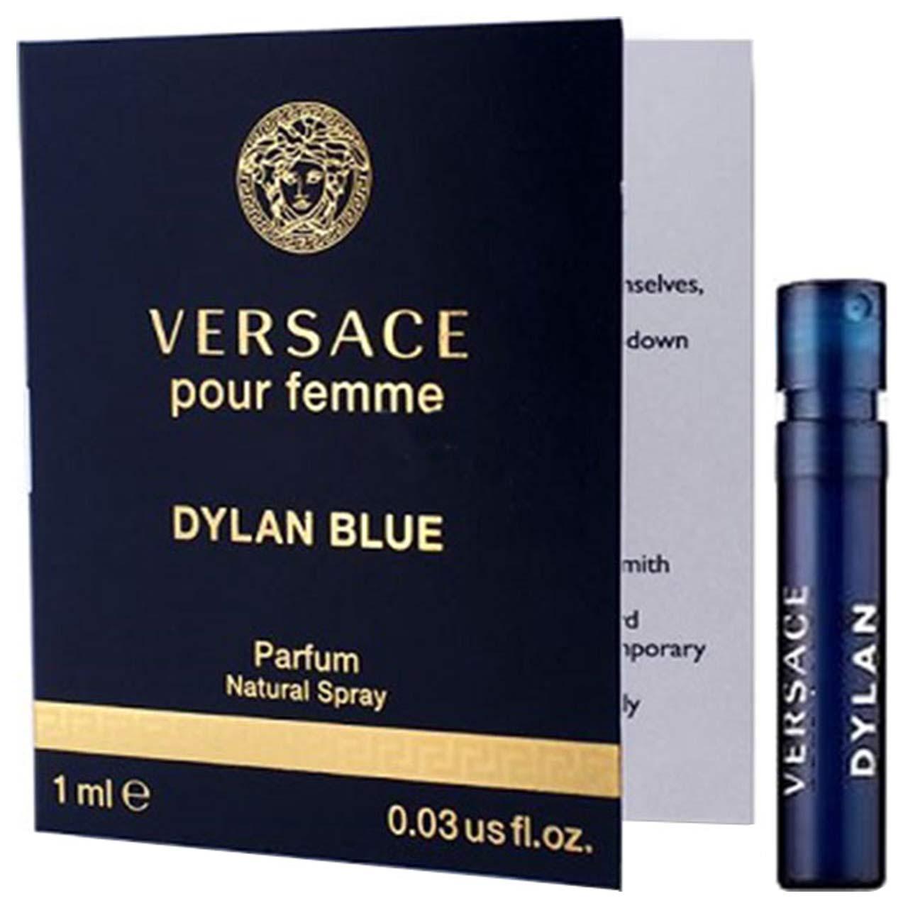 عطر جیبی زنانه ورساچه مدل Dylan Blue حجم 1 میلی لیتر
