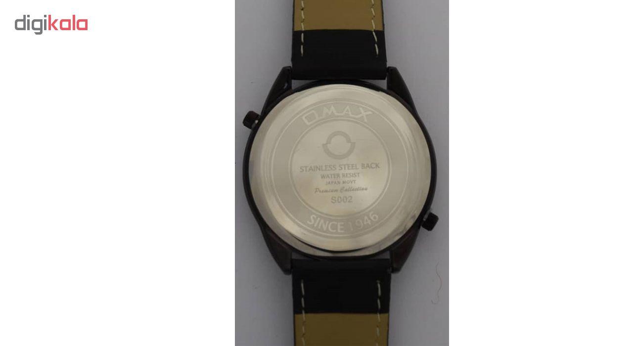 ساعت مچی عقربه ای مردانه اوماکس مدل S002
