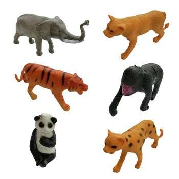 فیگور طرح حیوانات مجموعه 6 عددی