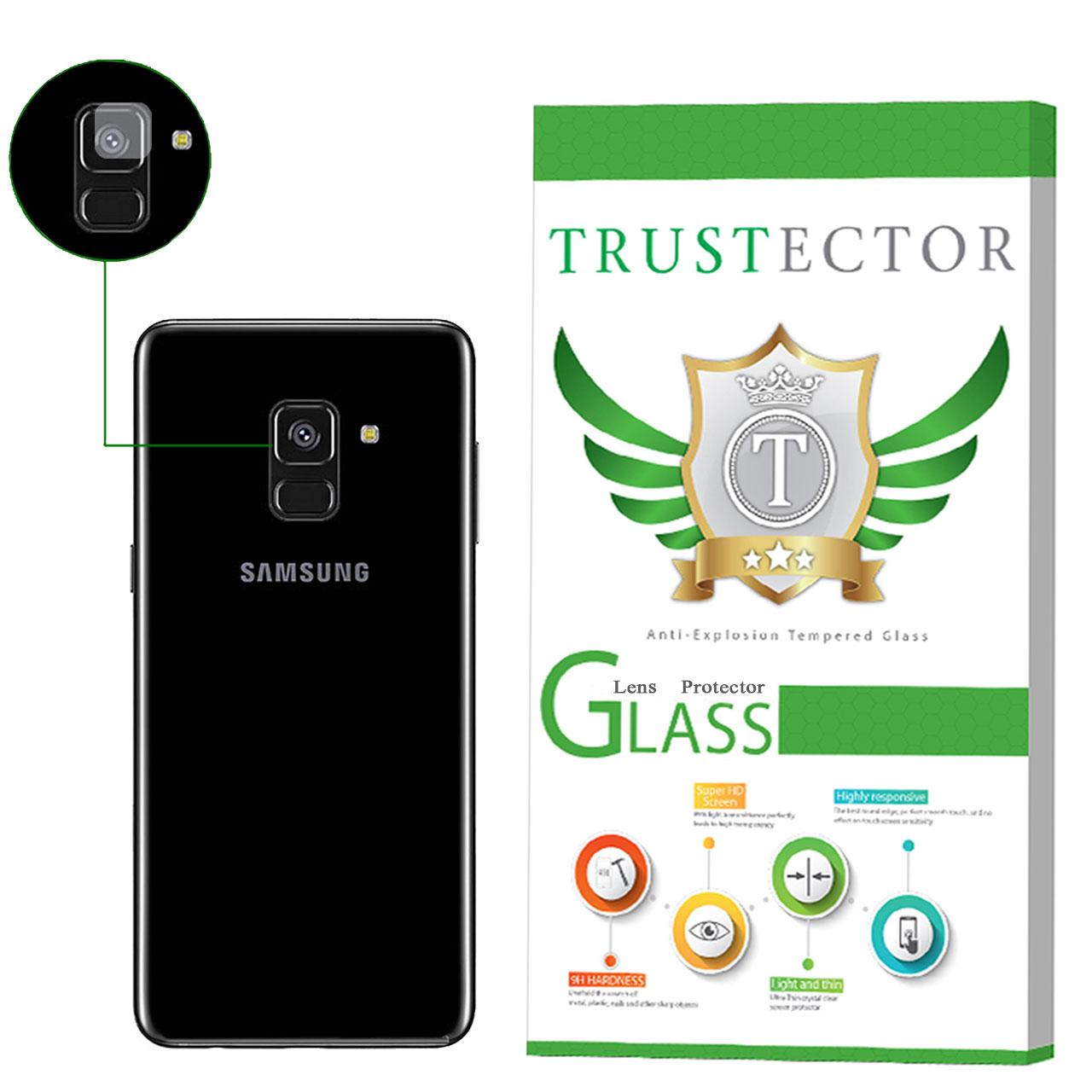 محافظ لنز دوربین تراستکتور مدل CLP مناسب برای گوشی موبایل سامسونگ Galaxy A8 2018