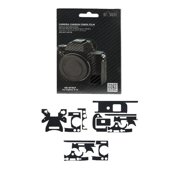 برچسب پوششی کی وی مدل KS-XT3CF مناسب برای دوربین عکاسی فوجی فیلم X-T3