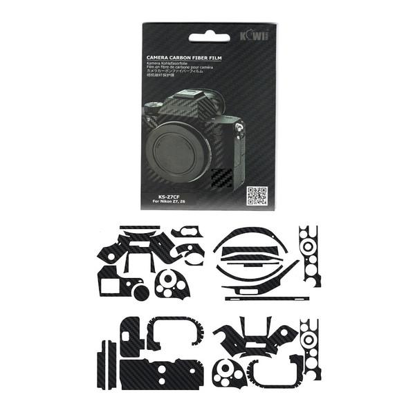 برچسب پوششی کی وی مدل KS-Z7CF مناسب برای دوربین عکاسی نیکون  Z7 / Z6