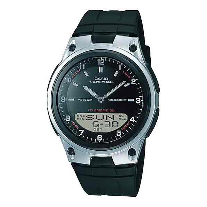 ساعت مچی عقربه ای مردانه کاسیو مدل AW-80-1A 37