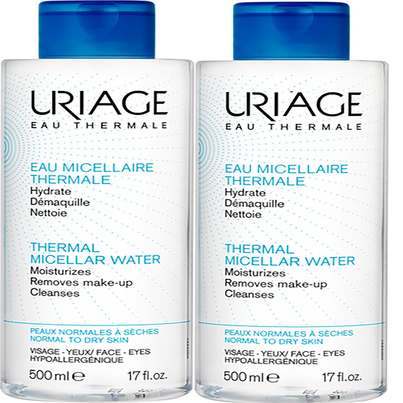 پاک کننده آرایش صورت اوریاژ سری Micellar Water حجم 500 میلی لیتر بسته 2 عددی