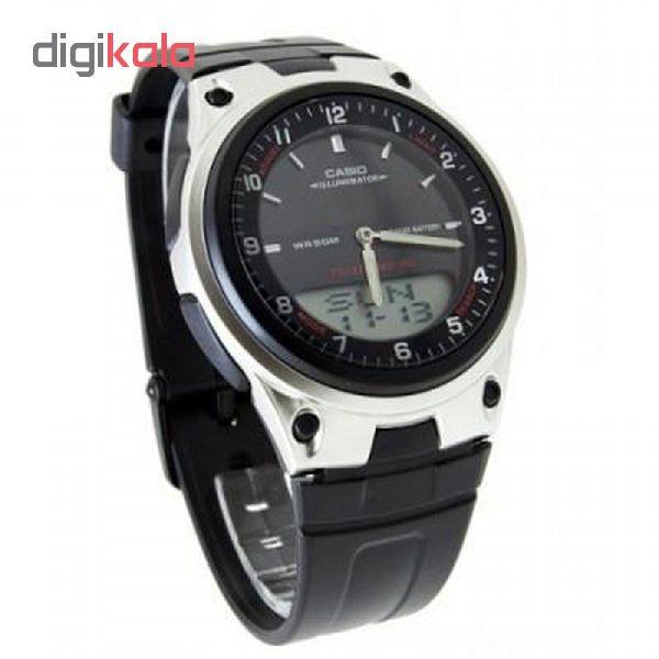 کد تخفیف                                      ساعت مچی عقربه ای مردانه کاسیو مدل AW-80-1A