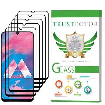 محافظ صفحه نمایش تراستکتور مدل GSS مناسب برای گوشی موبایل سامسونگ Galaxy A30 بسته 5 عددی