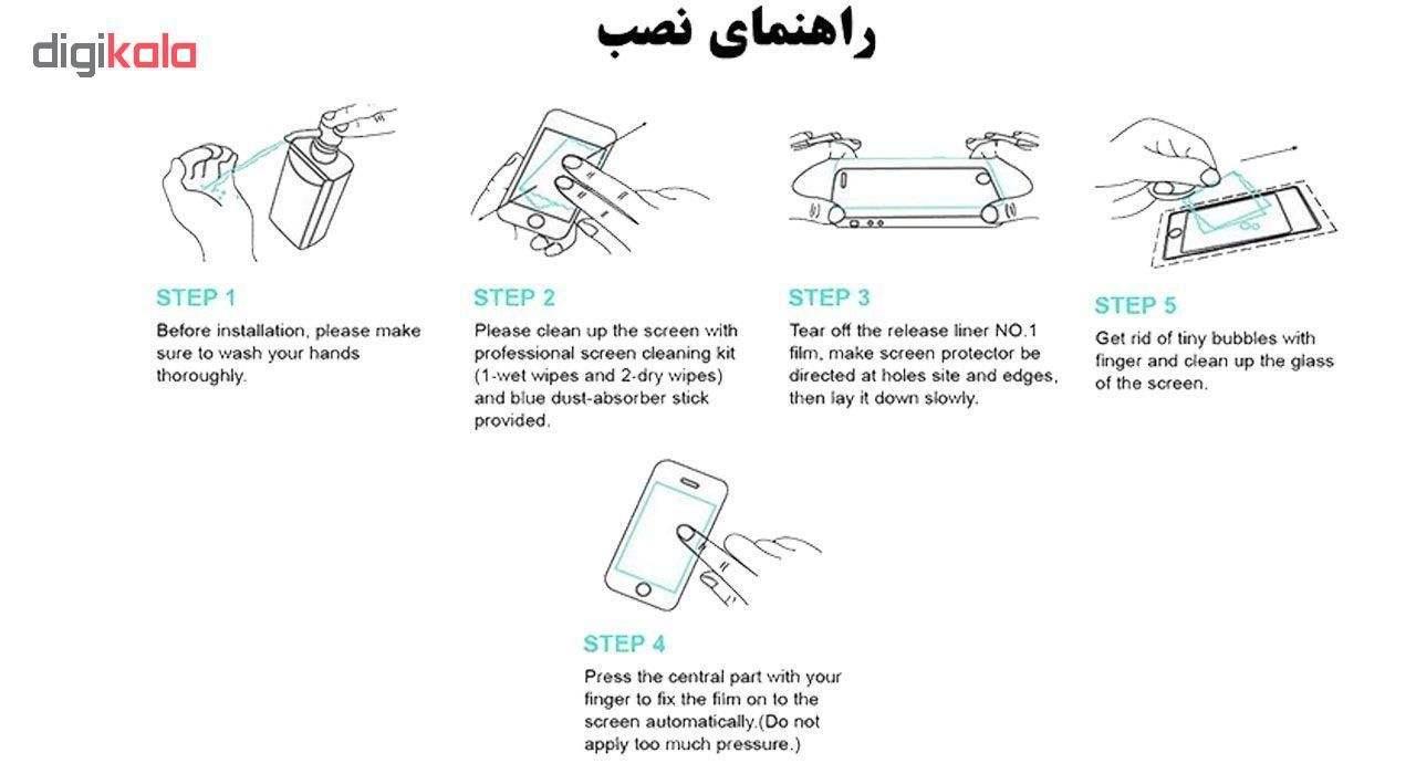 محافظ صفحه نمایش تراستکتور مدل GSS مناسب برای گوشی موبایل سامسونگ Galaxy A50 بسته 3 عددی main 1 4