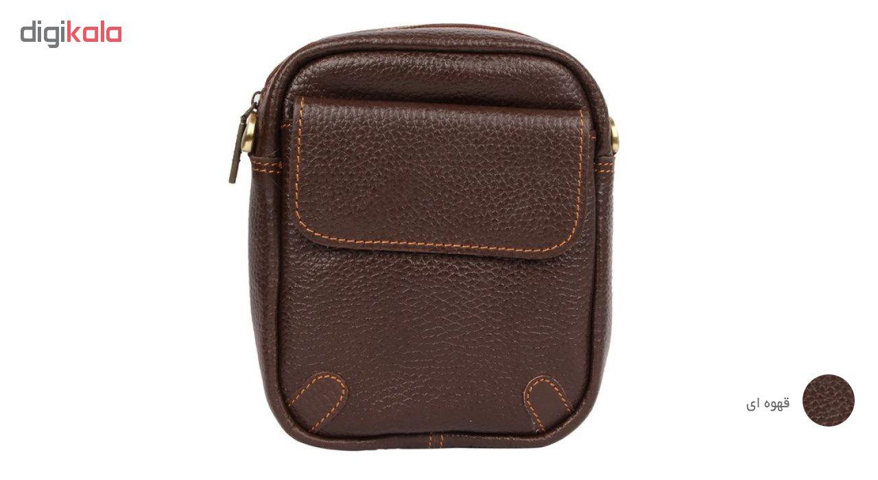 کیف دوشی چرم آرا مدل d021