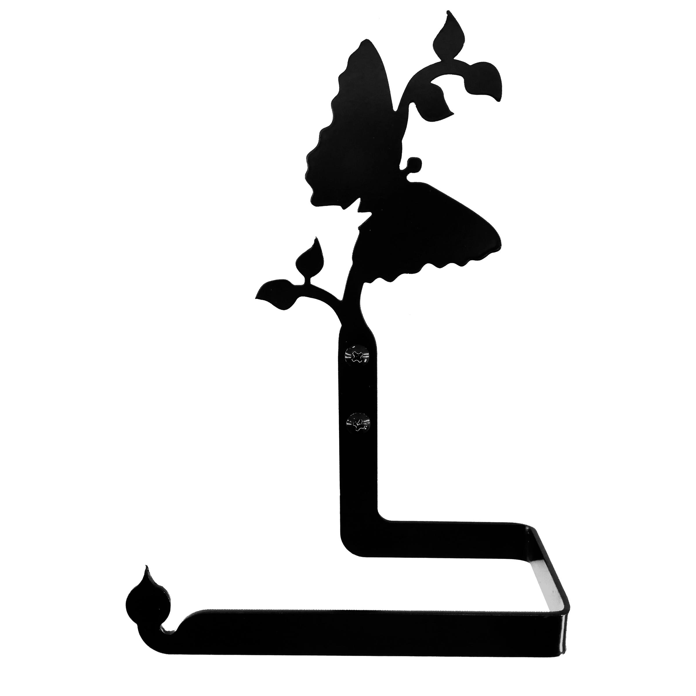 پایه رول دستمال کاغذی طرح پروانه کد KMJ4