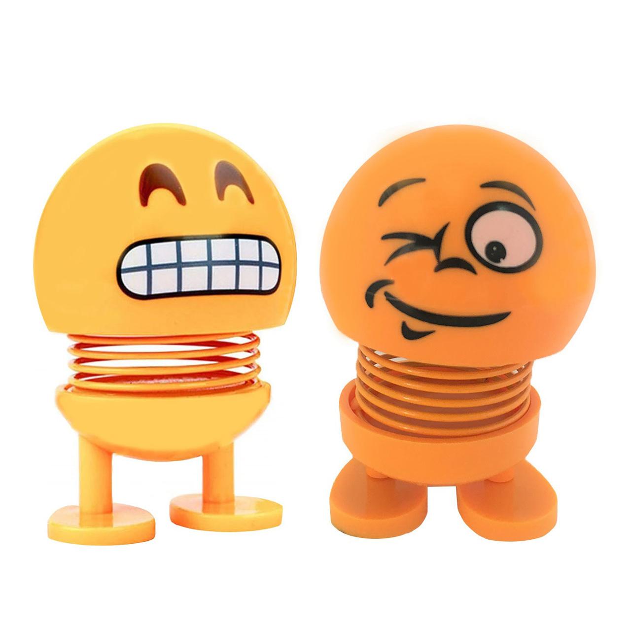 عروسک روی داشبورد سر متحرک مدل ST2 مجموعه 2 عددی
