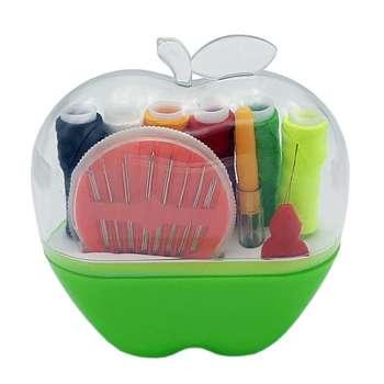 جعبه لوازم خیاطی طرح سیب کد 1040001-1