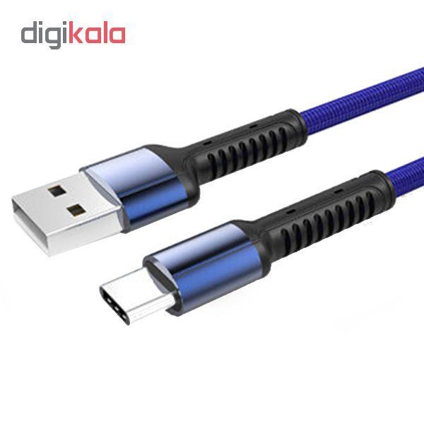کابل تبدیل USB به USB - C الدینیو مدل LS63 طول 1 متر main 1 1
