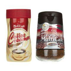 قهوه فوری کلاسیک مولتی کافه وزن 100 گرم به همراه کافی کریمر وزن 200 گرم