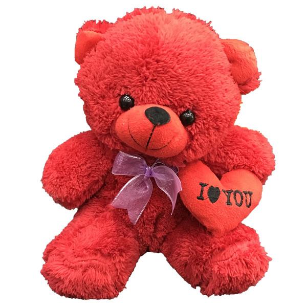 عروسک طرح خرس قلب بدست ارتفاع 20 سانتی متر