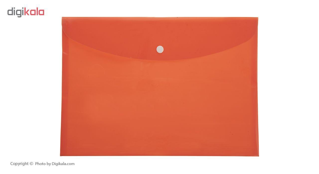 پوشه دکمه دار فوسکا سایز A4 بسته 10 عددی main 1 3