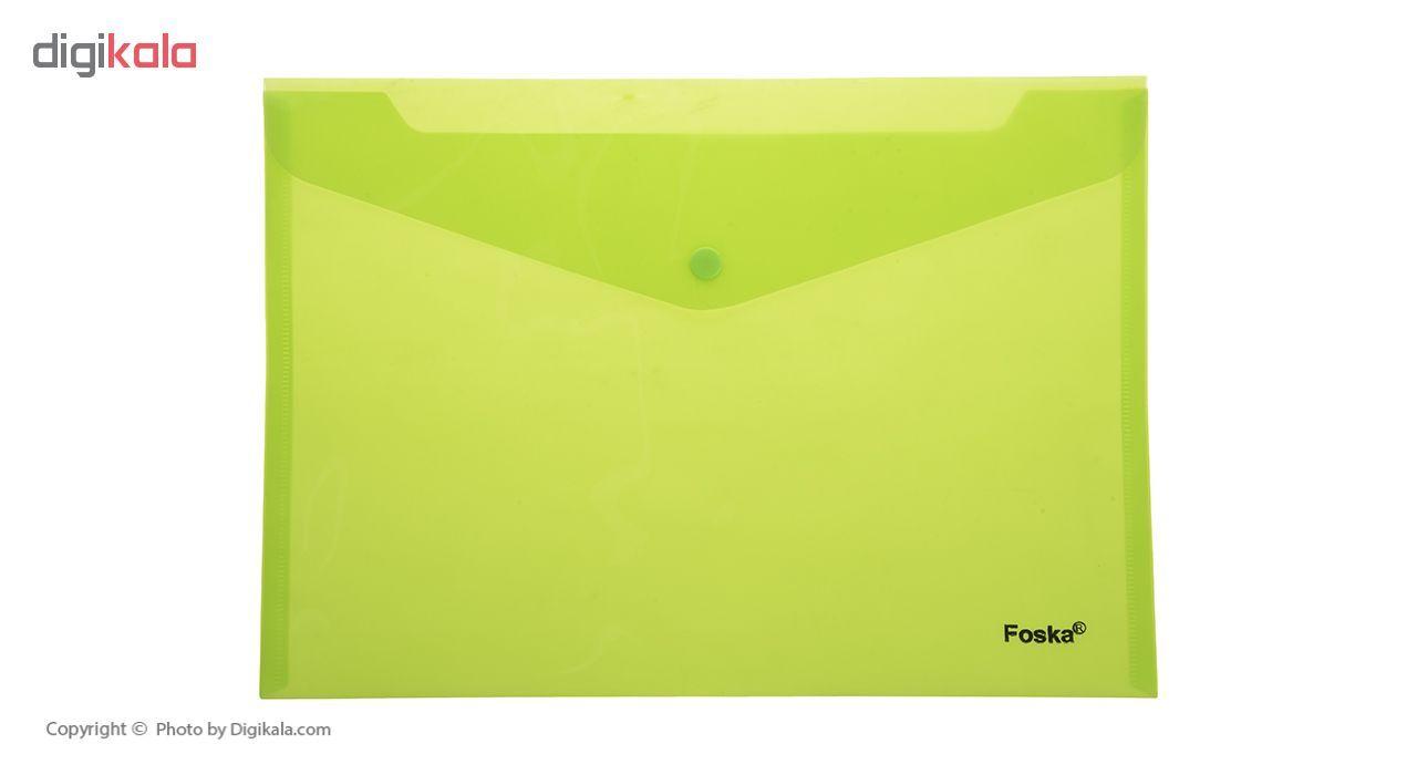 پوشه دکمه دار فوسکا سایز A4 بسته 10 عددی main 1 8