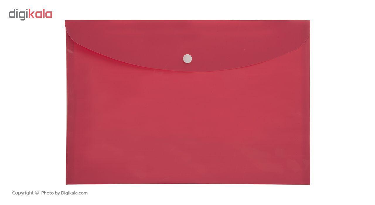 پوشه دکمه دار فوسکا سایز A4 بسته 10 عددی main 1 11