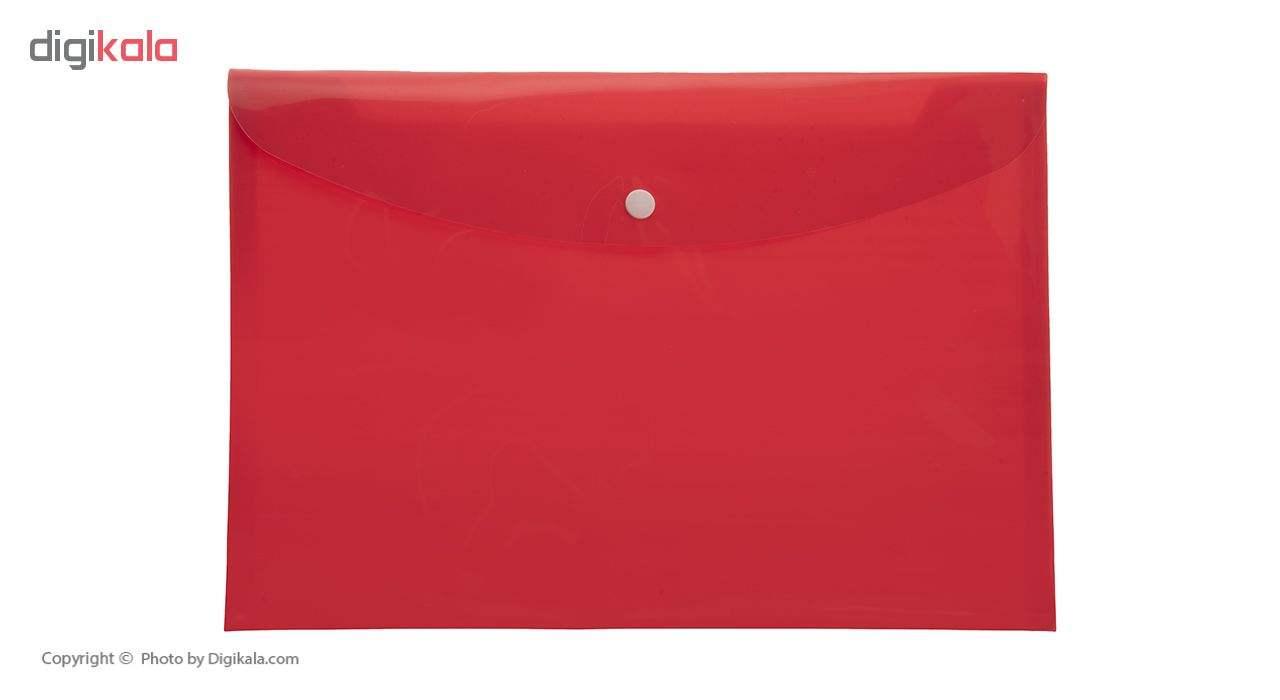 پوشه دکمه دار فوسکا سایز A4 بسته 10 عددی main 1 6