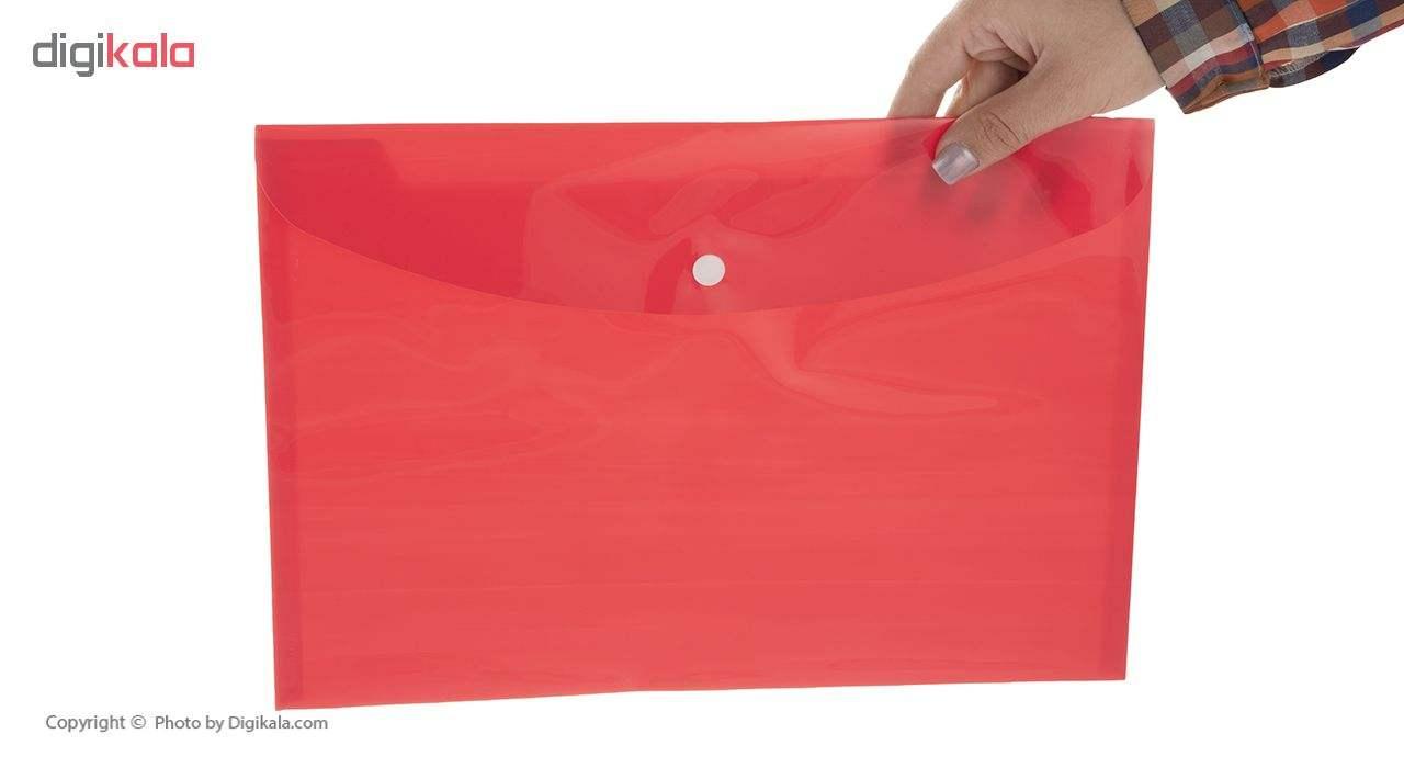 پوشه دکمه دار فوسکا سایز A4 بسته 10 عددی main 1 15