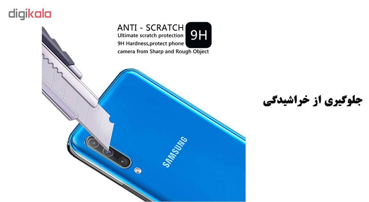 محافظ لنز دوربین تراستکتور مدل CLP مناسب برای گوشی موبایل سامسونگ Galaxy A50 main 1 6