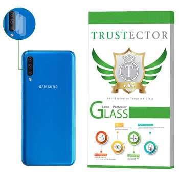محافظ لنز دوربین تراستکتور مدل CLP مناسب برای گوشی موبایل سامسونگ Galaxy A50 بسته 3 عددی