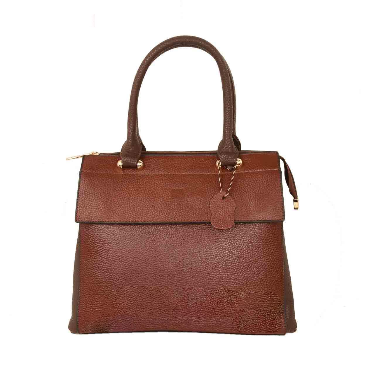 کیف دستی زنانه پارینه چرم مدل PlV145-7-1495