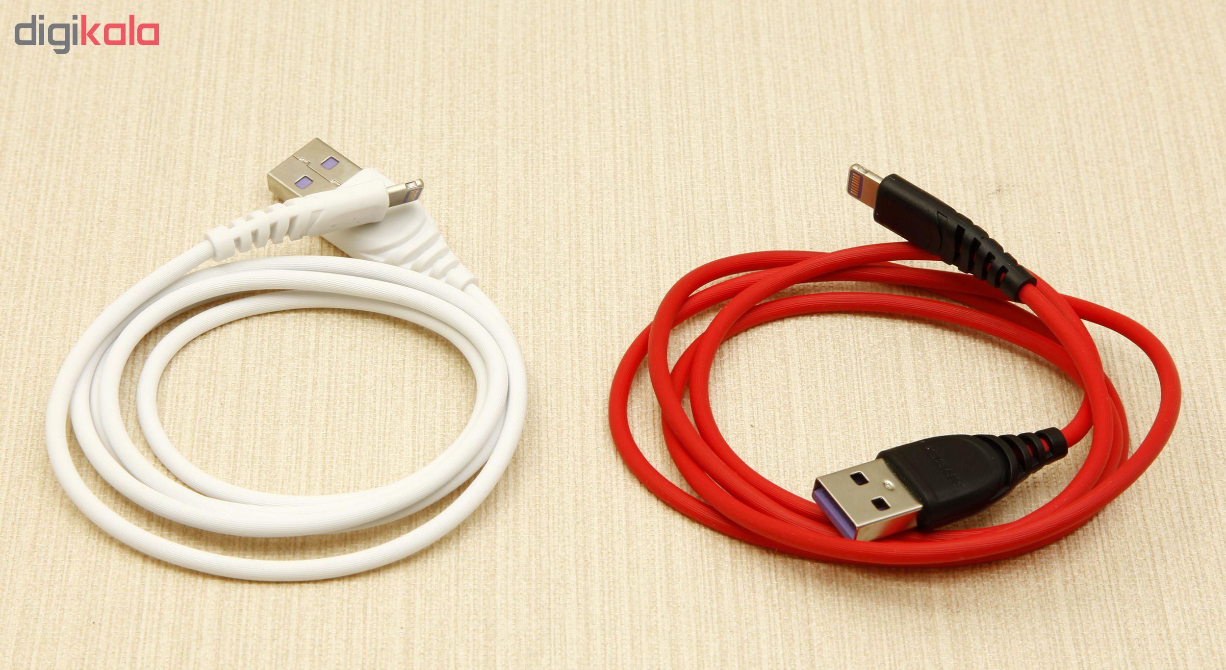 کابل تبدیل USB به لایتنینگ آرسون مدل S1 طول 1 متر