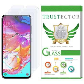 محافظ صفحه نمایش تراستکتور مدل GNF مناسب برای گوشی موبایل سامسونگ Galaxy A70 بسته 3 عددی