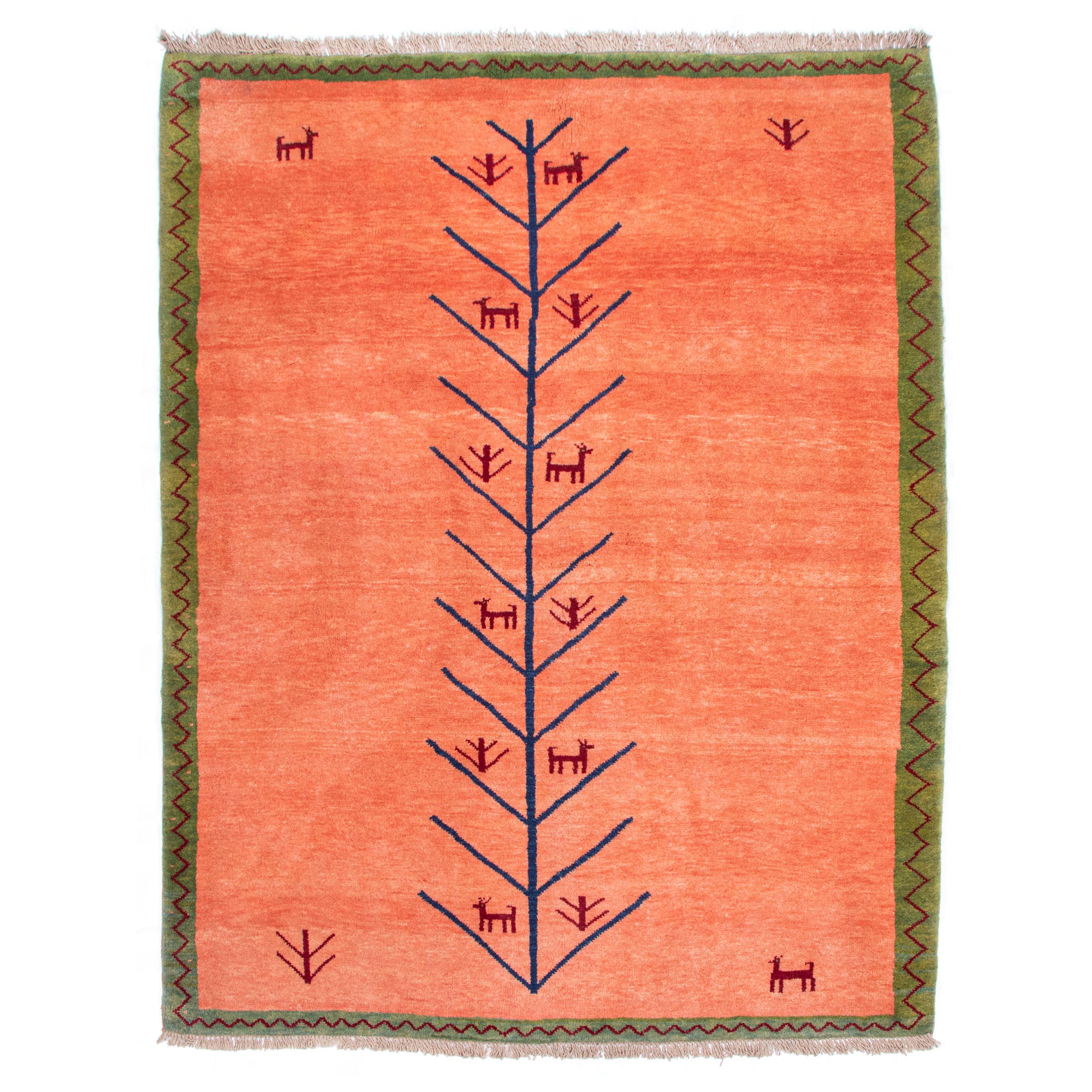 گبه دستباف چهار متری سی پرشیا کد 171059