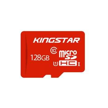 تصویر کارت حافظه microSDXC کینگ استار کلاس 10 استاندارد UHS-I U1 سرعت 85MBps همراه با آداپتور SD ظرفیت 64 گیگابایت Kingstar UHS-I U1 Class 10 85MBps microSDXC With Adapter 64GB