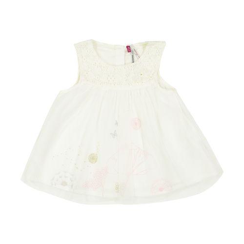 پیراهن نوزادی بدون آستین نوزادی دخترانه - ارکسترا