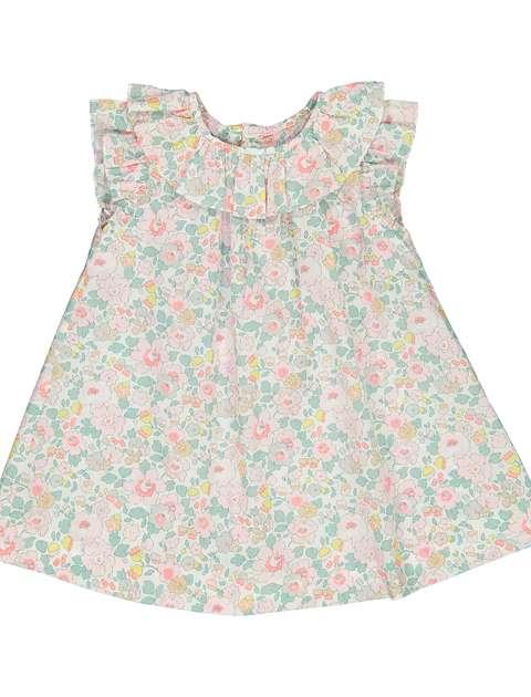 پیراهن نخی نوزادی دخترانه Lamente - جاکادی