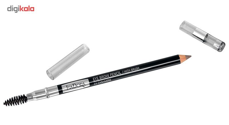 مداد ابرو برس دار ایزادورا سری Eyebrow Pencil With Brush شماره 23