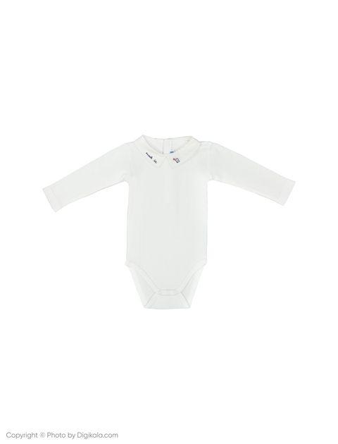 بادی نخی نوزادی پسرانه Livret - جاکادی - سفید - 1