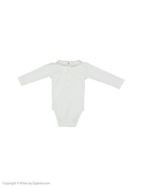 بادی نخی نوزادی پسرانه Livret - جاکادی - سفید - 2