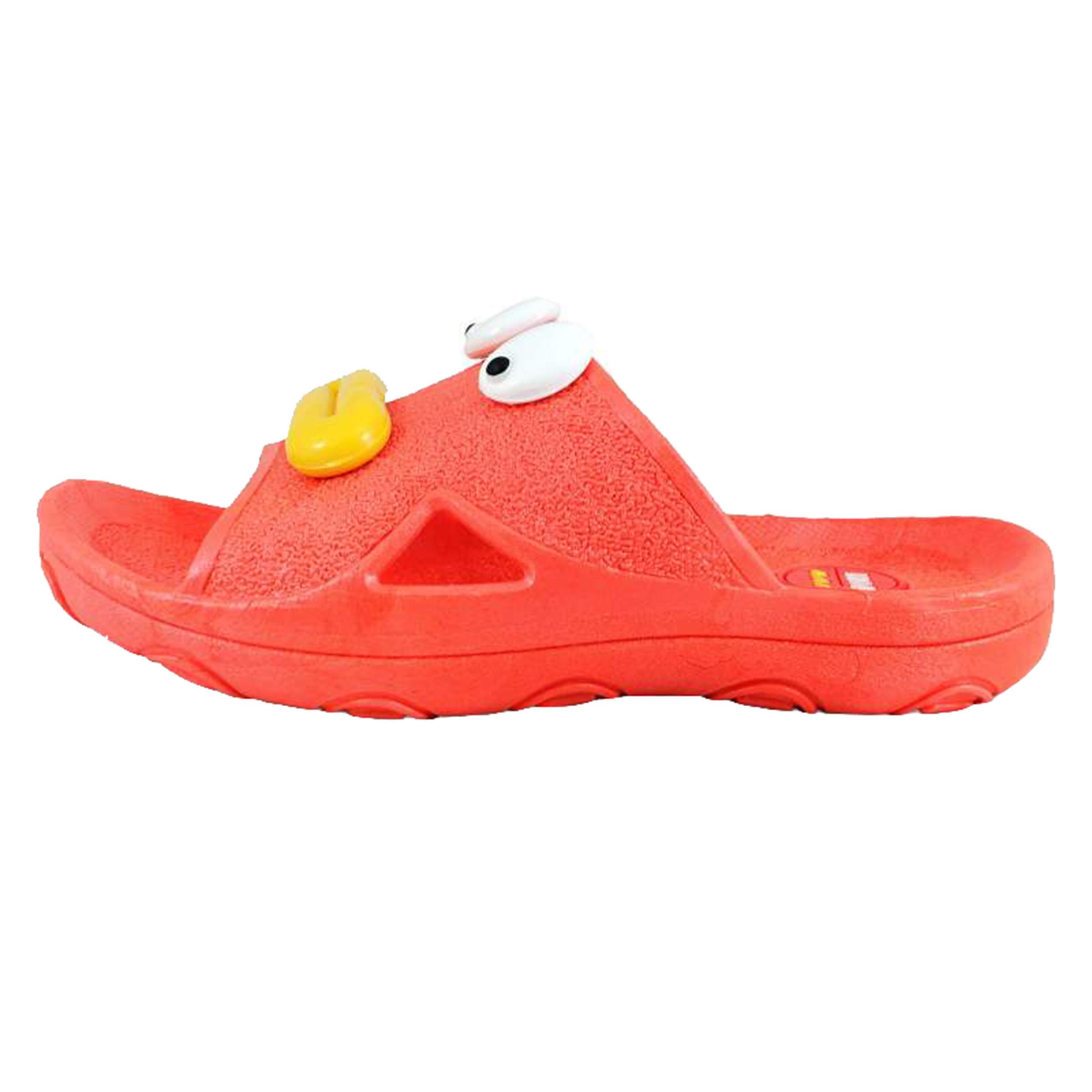 دمپایی پسرانه طرح اردک کد 13