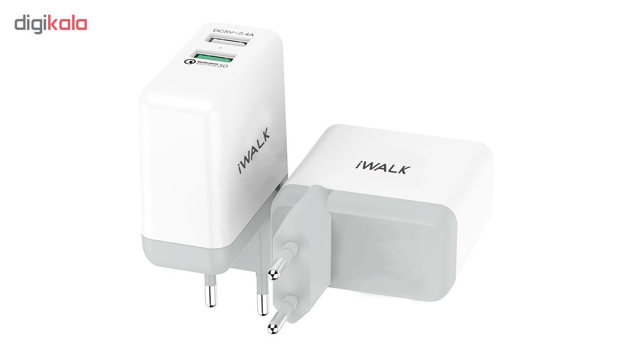 شارژر دیواری آی واک مدل ADL008Q main 1 2