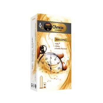 کاندوم کلایمکس مدل AMAZING بسته 12 عددی