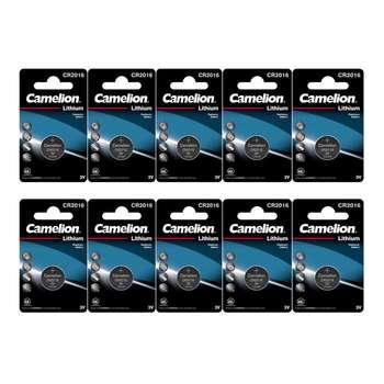 باتری سکه ای کملیون مدل CR2016 بسته 10 عددی
