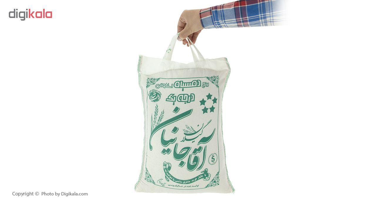 برنج دم سیاه درجه یک آقاجانیان - 5 کیلوگرم main 1 4