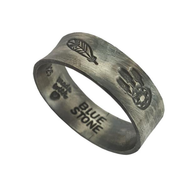 انگشتر نقره زنانه بلو استون کد 3981023