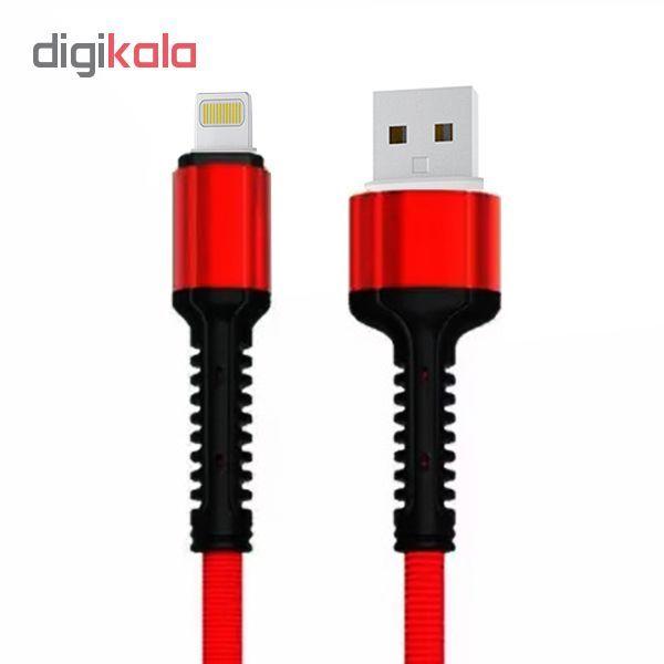کابل تبدیل USB به لایتنینگ الدینیو مدل LS63 طول 1 متر main 1 1