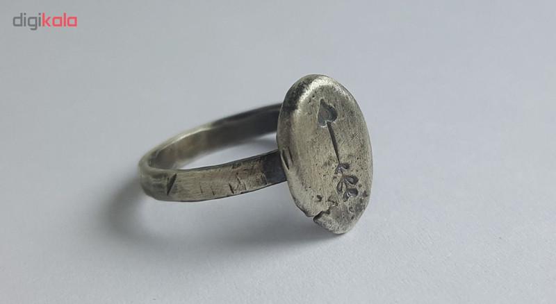 انگشتر نقره زنانه بلو استون کد 3981024